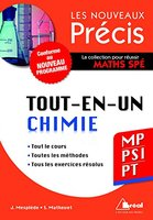 Tout-en-un - Chimie MP/PSI/PT