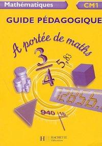 Mathematiques Cm1 A Portee De Maths Meunier Robert Librairie Eyrolles