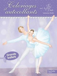 Grands ballets / coloriages et autocollants