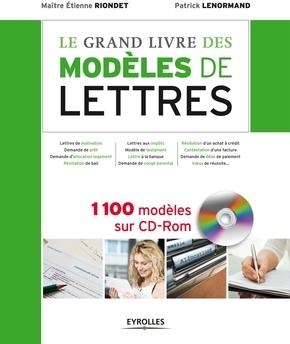 E.Riondet, P.Lenormand- Le grand livre des modèles de lettres