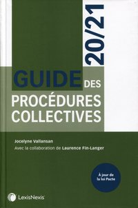 Guide des procédures collectives 2020/21