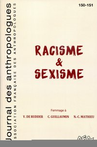 Journal des anthropologues 150-151/2017. racisme & sexisme