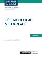 Deontologie notariale, 3e ed