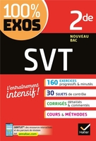 100% exos ; svt ; 2nde ; exercices résolus