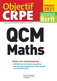 Qcm crpe : maths 2021