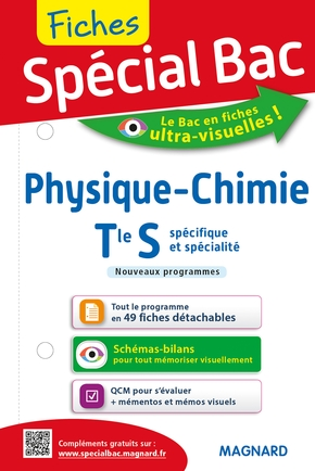 Special Bac ; Fiches Physique-Chimie ; Terminale S