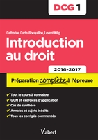 Dcg.1 introduction au droit 2e edt