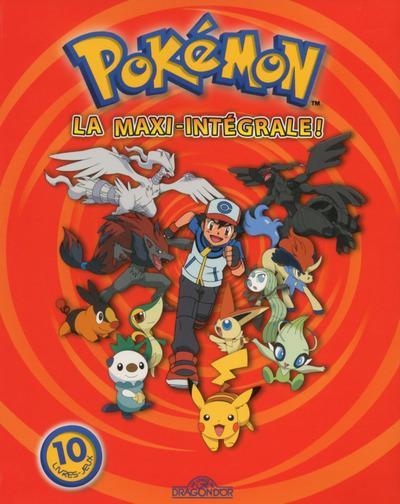 Pokémon La Maxi Intégrale Librairie Eyrolles