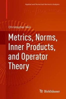 Metrics, norms, inner products, and operator theory analyse numerique