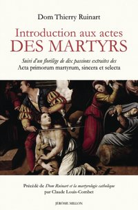 Introduction aux actes des martyrs