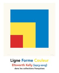 Ligne forme couleur - ellsworth kelly (1923-2015)