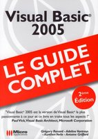 Visual Basic 2005 - Le guide complet