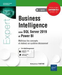Business intelligence avec SQL Server 2019 et Power BI