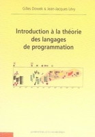 Introduction à la théorie des langages de programmation