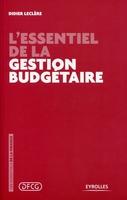 Didier Leclère - L'essentiel de la gestion budgétaire