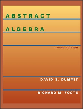 Abstract algebra 3rd ed