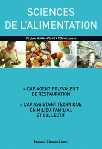 Cap - sciences de l'alimentation - elève