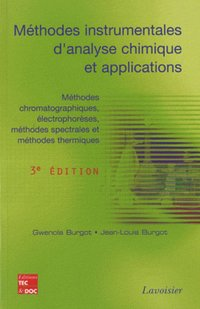 Méthodes instrumentales d'analyse chimique et applications