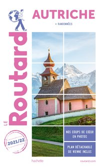 Guide du routard autriche 2021/22