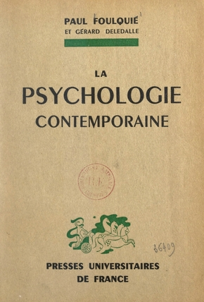 La psychologie contemporaine