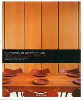 Elements in architecture - Espaces
