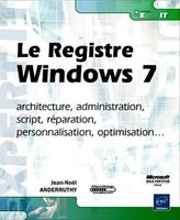 Le registre Windows 7