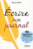 Marion Rollin - Ecrire son journal