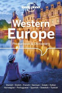 Western europe phrasebook & dictionary 6ed -anglais-