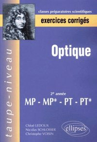 Optique mp-mp*-pt-pt* - exercices corrigés