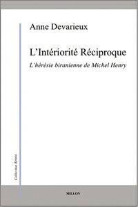 L'interiorite reciproque