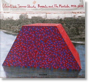 Christo and jeanne-claude. barrels and the mastaba 1958-2018