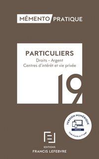 Particuliers - 2019