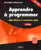 Christophe Dabancourt - Apprendre à programmer