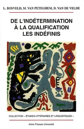 De l indetermination a la qualification les indefinis