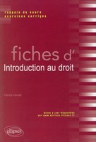 Fiches d'introduction au droit