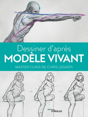C.Legaspi- Dessiner d'après modèle vivant