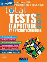 Total tests d'aptitude et psychotechniques 2017