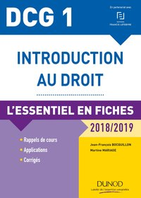 Introduction au droit - DCG 1 - 2018/2019