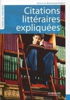 Valérie Le Boursicaud - Citations litteraires expliquees