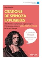 M.Halévy - Citations de Spinoza expliquées
