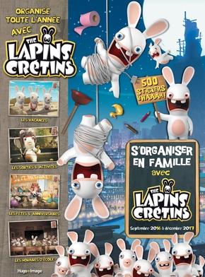S'organiser en famille avec the Lapins crétins   Collectif Hugo