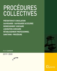 Procédures collectives - 2019-2020