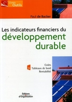 Paul De Backer - Indicateurs financiers du développement durable
