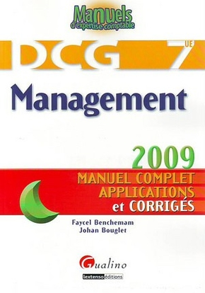 Management - DCG 7 - Manuel complet, applications et corrigés