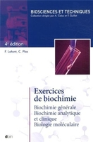 Exercices de biochimie - 4e édition
