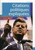 Eric Keslassy - Citations politiques expliquées