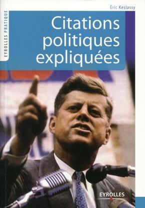 Eric Keslassy- Citations politiques expliquées