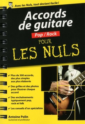 Accords de guitare pop/rock pour les nuls