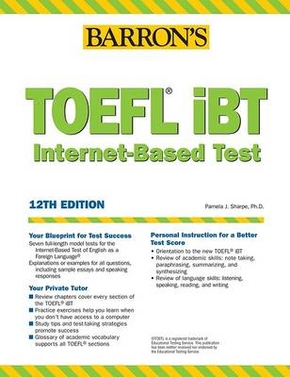 TOEFL IBT (BOOK ONLY) 12TH ED.