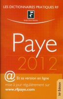 Dictionnaire paye - 2012